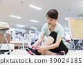 피트니스 체육관 여성 휘트니스 클럽 39024185