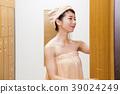 여성, 여자, 입욕 39024249