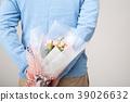 프로포즈, 꽃다발, 남자 39026632