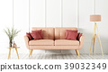 Interior of living room with sofa 3d rendering 39032349