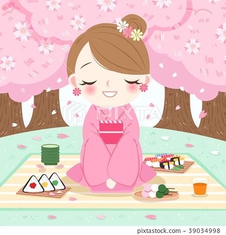 woman wear kimono 39034998