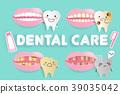 cartoon tooth decay problem 39035042