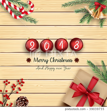 2018 merry christmas and happy new year with chris 39039735