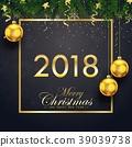 2018 merry christmas 39039738