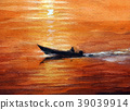 fishing boat, ocean, sea 39039914