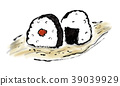 rice ball, food, foods 39039929
