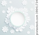 vector, wreath, floral 39041734