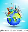 旅行 世界 概念 39042166