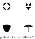 Island icon set 39042921