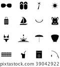 Island icon set 39042922