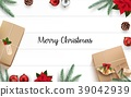 christmas decoration wooden 39042939