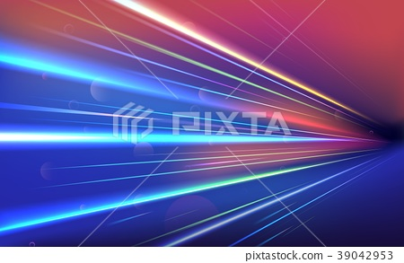 Colourful light rays 39042953