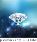 Shiny diamond background 39043460