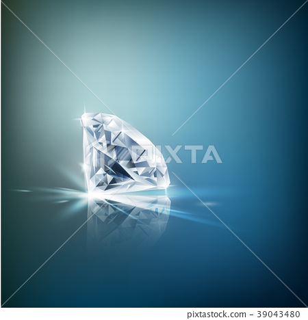 Shiny diamond background 39043480