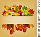 Autumn background. vector 39045094