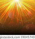 Blurred underwater background with rays of light a 39045740