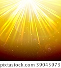 Blurred underwater background with rays of light y 39045973