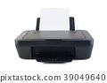 Black printer on white 39049640