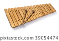 The xylophone and two mallets 39054474