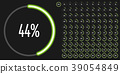 chart, circle, diagram 39054849