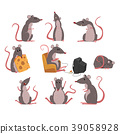 character mouse vector 39058928