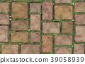 Vector seamless texture brown stones. 39058939