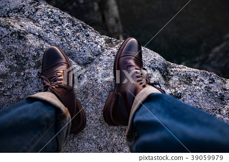 Hiking in my leather 39059979