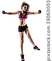 cardio boxing cross core workout fitness exercise 39060003