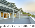 Large upstairs deck in southern California  39060238