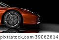 Side/front view sport car 39062614