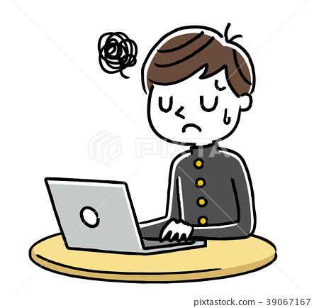นักเรียนชาย: อินเทอร์เน็ต, พีซี 39067167