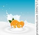 orange, fruit, milk 39067371