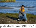 family, beach, child 39067573