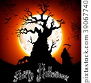 Halloween background 39067740