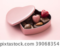 초콜릿, 발렌타인, 하트 39068354