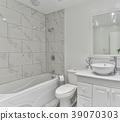 Bathroom modern Interior 39070303