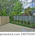 Backyard garden of custom built luxury house in 39070309