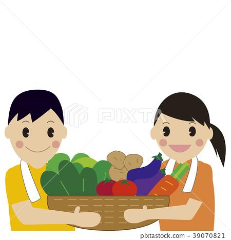 矢量 收穫 豐收 39070821