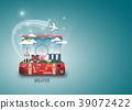 Singapore Landmark Global Travel And Journey. 39072422