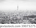 city skyline view of Ikebukuro in tokyo, japan 39073275