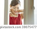 미들 여성 미용 드레스 39075477