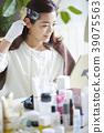 中年女性美发色 39075563