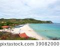 Ariel view on Koh Larn Island 39082000