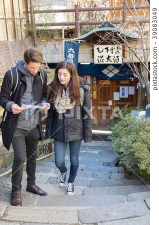 Inbound image inbound tourist Japan hot spring spa 39083049
