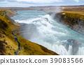 waterfall of gullfoss, waterfall, river 39083566