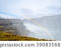 waterfall of gullfoss, fall, water fall 39083568