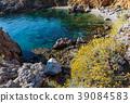 Sea bay in Zingaro Park, Sicily, Italy 39084583