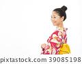 유카타 여성 39085198