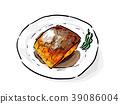 鯖魚 中式料理 料理 39086004