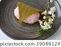 sakura mochi, wagashi, japanese confectionery 39086124
